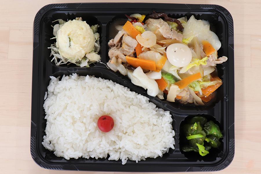 八宝菜弁当01
